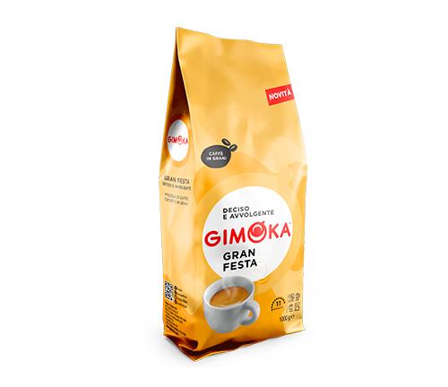 Caf� GIMOKA Gran Festa en granos 1Kg