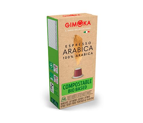 Capsulas biodegradables Arabica Caja x 10